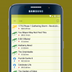 Geocaching App & Widget